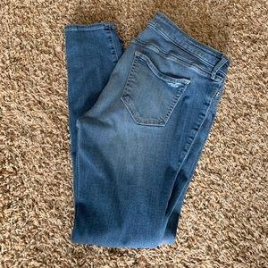 Hollister low rise denim leggings